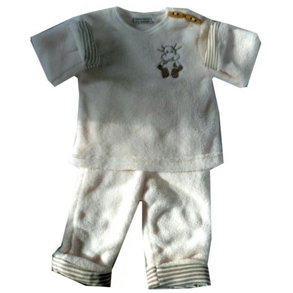 78cf00963994a Pyjama polaire pour bébé - brody floky
