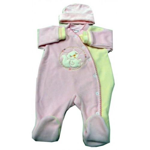 Pyjama bébé personnalisé + bonnet