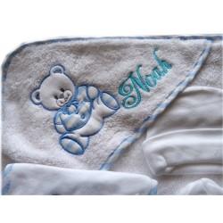 Sortie de bain bébé personnalisée