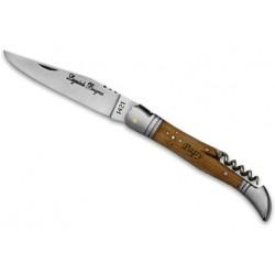 Couteau gravé Laguiole