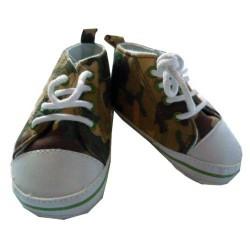 Chaussures bébé jungle verte