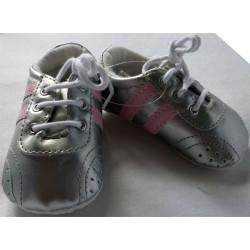 Chaussures bébé argent