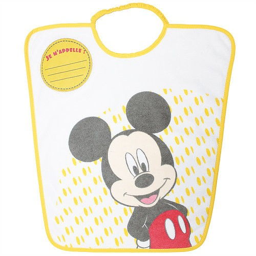 Bavoir personnalisé Mickey de Baby calin