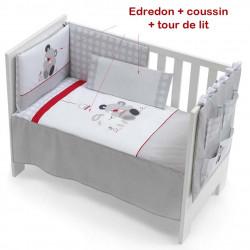 Ensemble Edredon , Tour de lit, Oreiller