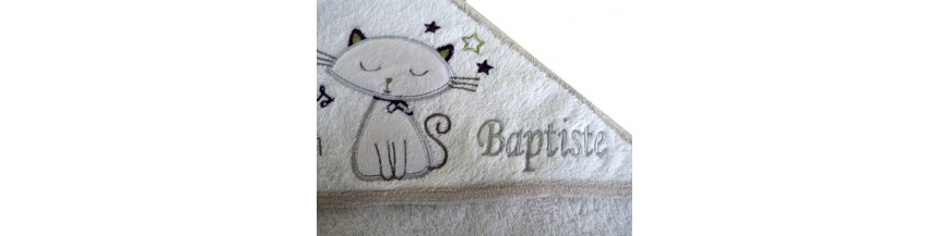 Parure de bain pour bébé