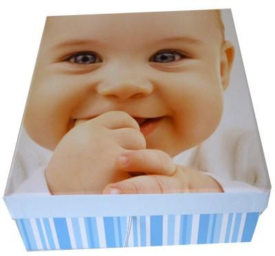 Boite bébé bleu