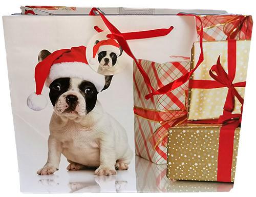 Sac cadeau chien